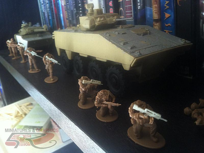 VBCI, GTIA Surobi (Battle Group Bison) 2010 1/35 Centaure_03